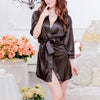 Women's Sexy Lingerie Lace Dress Underwear Black Babydoll Sleepwear+G-string new