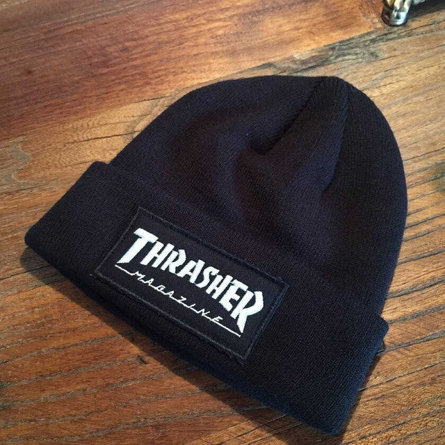 3c10f6eb75c ... 2016 New fashion Thrasher Cap Skullies Beanies hats top quality cotton  winter Bonnet Beanie knitted caps ...