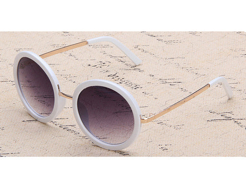 ROYAL GIRL Classic Round Women sunglasses Retro & Vintage Sun glasses Mirror shades for lady ss157