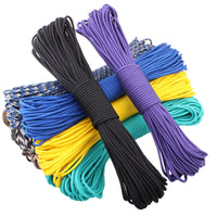 108 colors Paracord 550 Paracord Parachute Cord Lanyard Rope Mil Spec Type III 7Strand 100FT Climbing Camping survival equipment - Raja Indonesia
