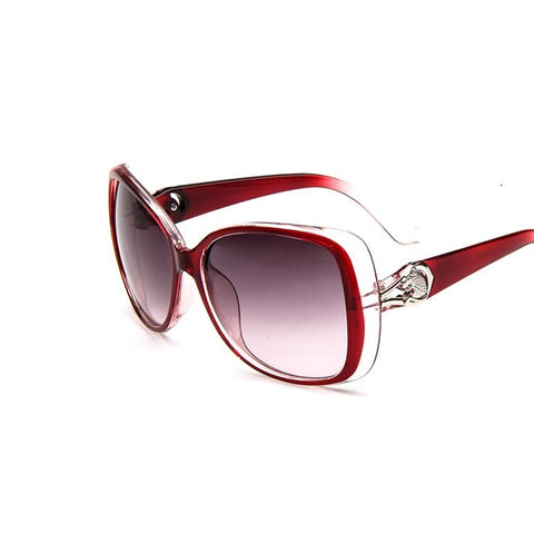 2016 Famous Brand Designer Shades Mirror Sunglasses Women Fashion Oval Retro Mirror Eyewear Sun Glasses Female Oculos De Sol - Raja Indonesia