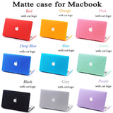 Pelindung Laptop Logo Matte untuk Apple macbook, Pro 11 12 13 15 Mac book, 13.3 inch - Raja Indonesia