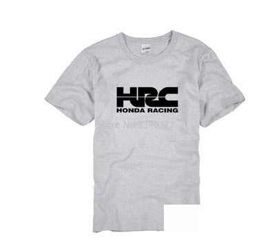 The New Hrc Honda Race Motorcycle Modified T Shirt Summer Cotton