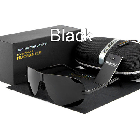 Hot Sunglasses for Men 2017 HDCRAFTER Brand Designer Polarized Driving Outdoor Sun Glasses for Male oculos de sol Free Shipping - Raja Indonesia