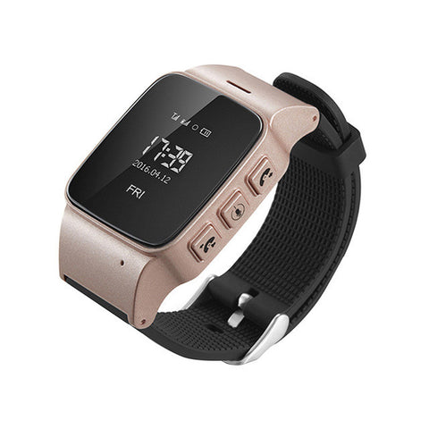 D99 Elderly Smart Watch For Xiaomi iPhone Anti-lost Gps+Lbs+Wifi Tracking With WIFI Mini Watch for Old Men Women iOS Android - Raja Indonesia