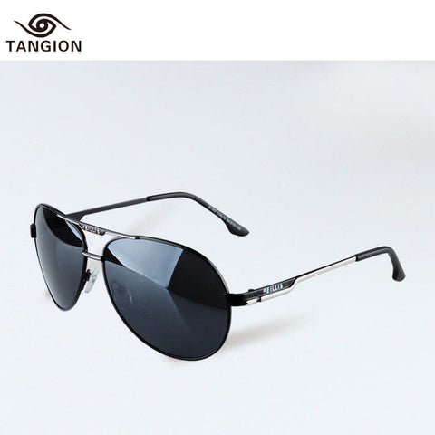 2015 New Arrival Sunglasses Men Brand Designer Alloy Frame Sun Glasses Oculos Gafas Mujer Fashion Men Best Choice Glasses 6140