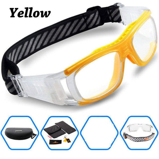 74029c113743 ... 2016 Protective Men s Sports Goggles Eyewear Glasses for Adult  Basketball Football Soccer Hockey Rugby Tag Dribble. Lenses Color