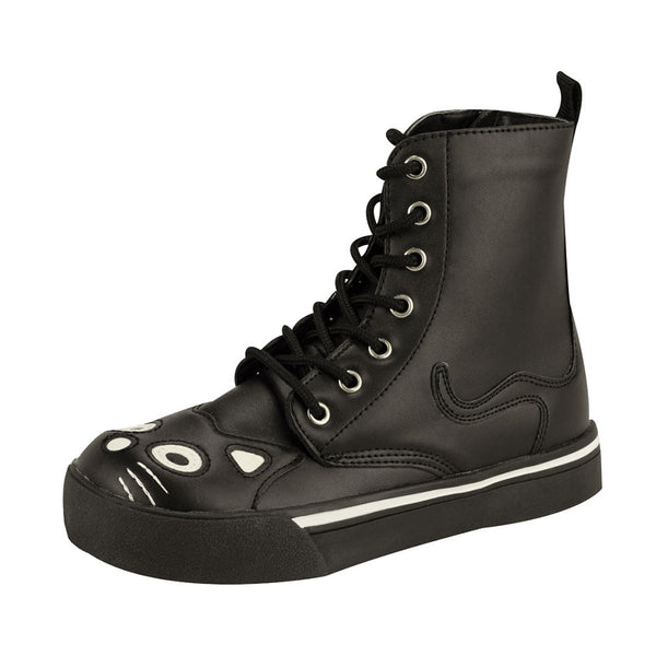 A6570L BLACK KITTY SNEAKER BOOT