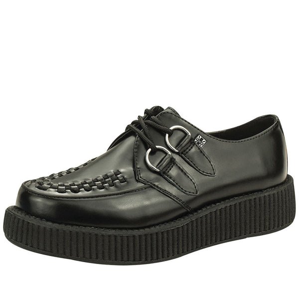 V6806 BLACK LOW SOLE VIVA CREEPER