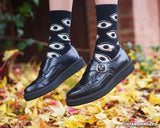 A8520 - Pointed Buckle Creepers