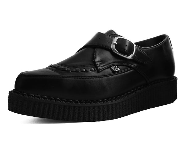 A9324 - Monk Buckle Vegan T.U.K. Skin Viva Creeper