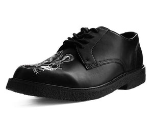 A9398 - Mens TUK Skin Embroidered Dress Shoe