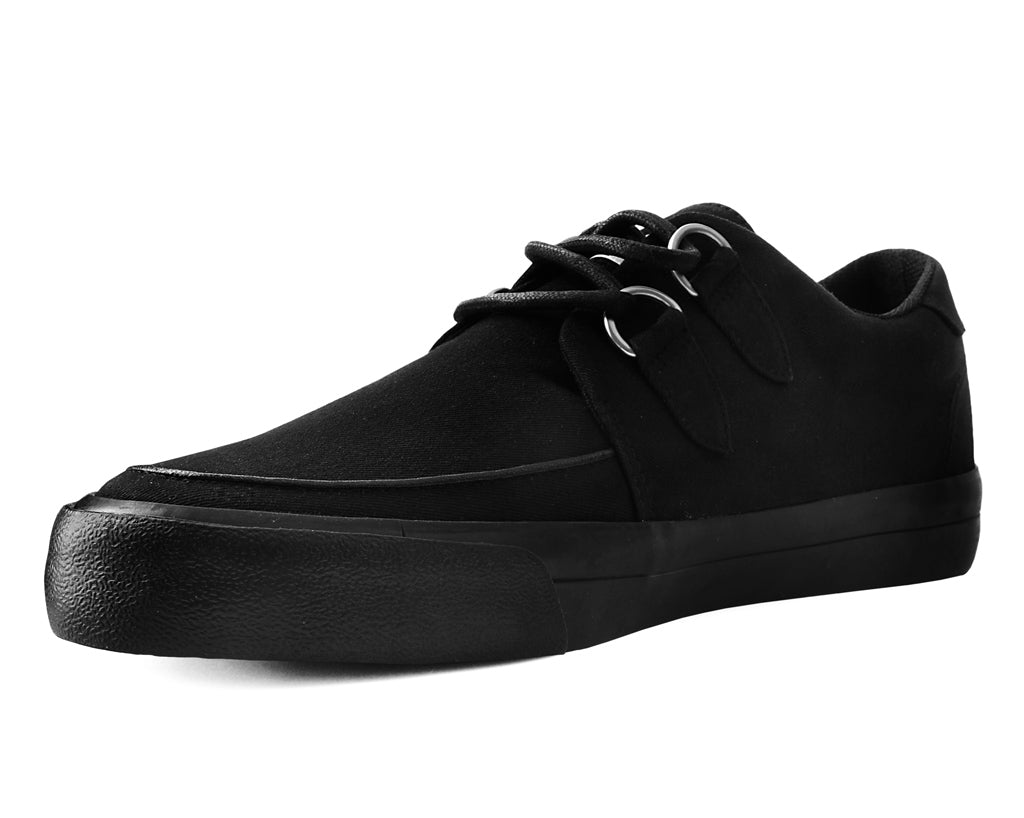 A9486 - Black Basic Twill D-Ring VLK Sneaker