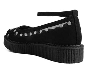 A9576L - Studded Mesh Vegan Ballet Creeper