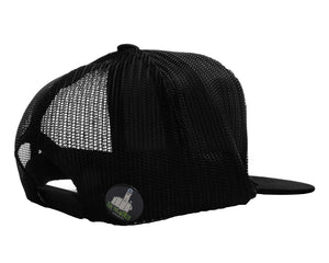 TUKP0074 - Black T.U.K. Logo Trucker Hat