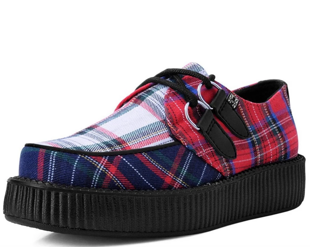 V9594 - Mixed Plaid Viva Low Creeper