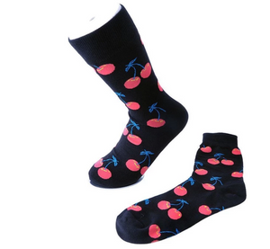 TUKTSK1031 - BLACK CHERRY WOMENS MID CALF SOCK