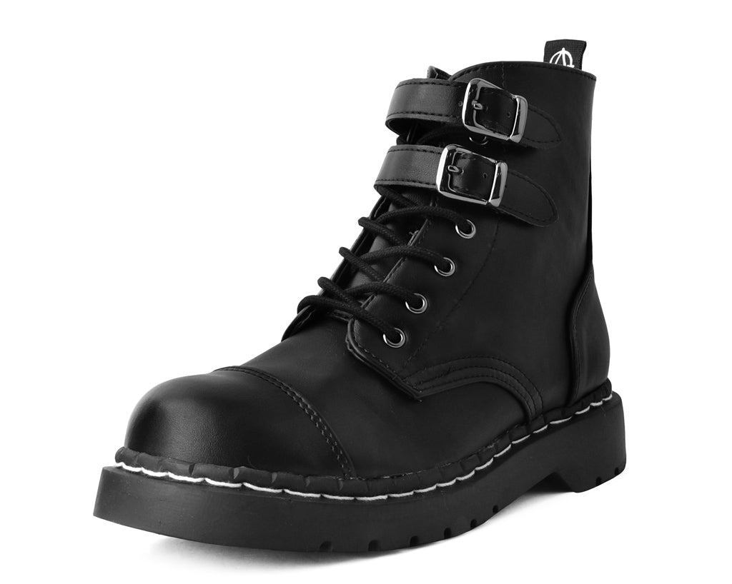 T2282 - Double Buckle Anarchic Boot