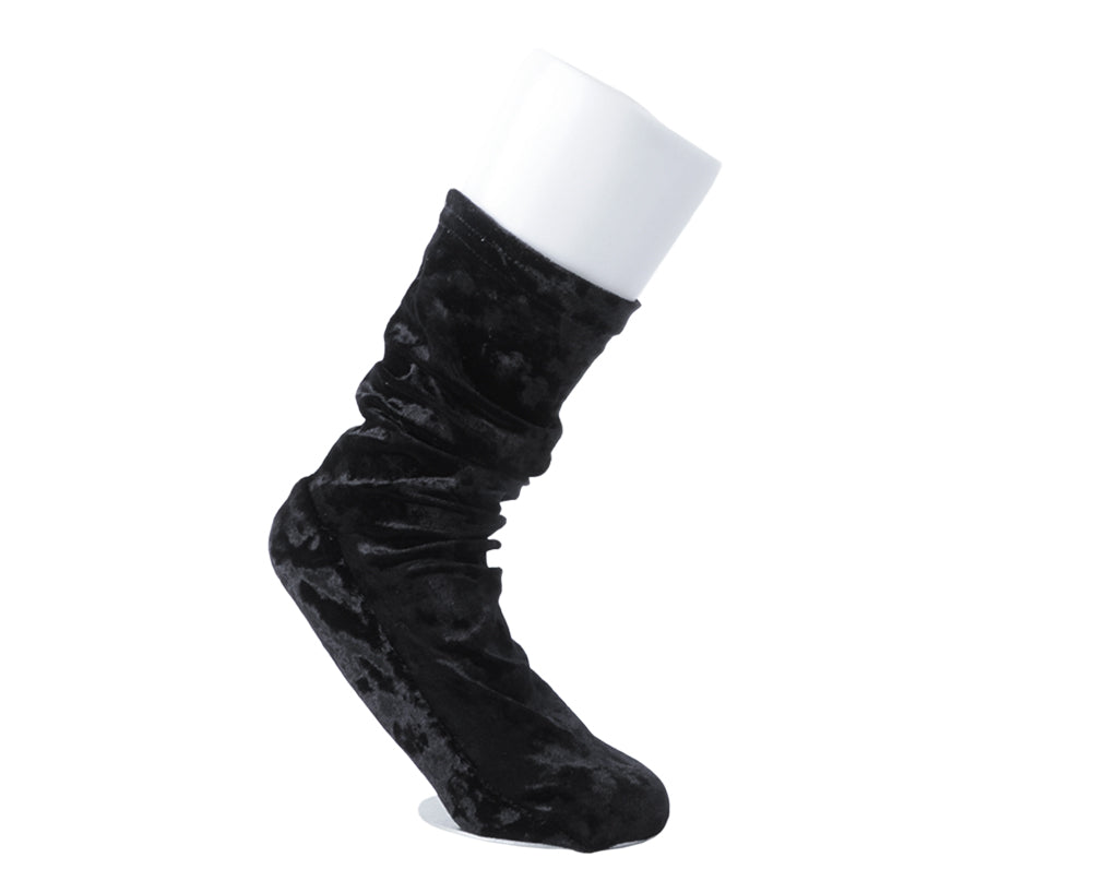 TUKTSK-1010 - T.U.K. BLACK VELOUR SOCK