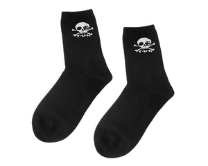 TUKTSK-1035 - Mens Black T.U.K. Logo sock