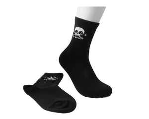 TUKTSK-1034 - Womens Black T.U.K. Logo sock