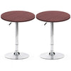 BT01 Bar Table Set of 2 (Darkwood)