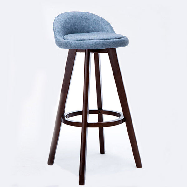 BS06 Low Bar Stool (Blue)
