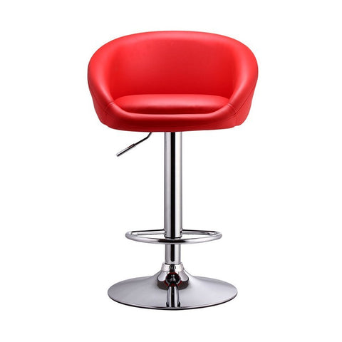 BS01 High Bar Stool (Red)