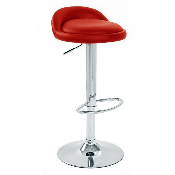 BS02 Low Bar Stool (Red)