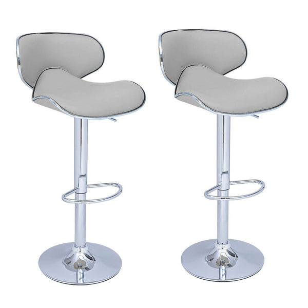 BS03 High Bar Stool (Grey) Set of 2