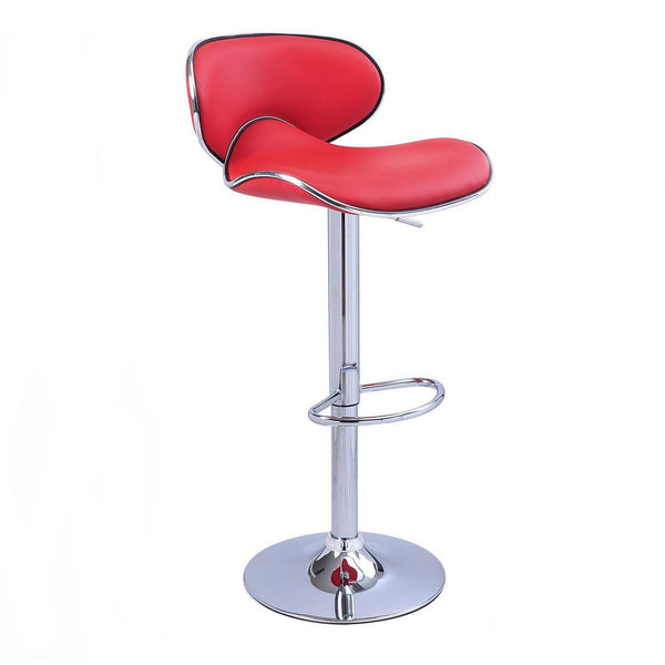 BS03 High Bar Stool (Red)