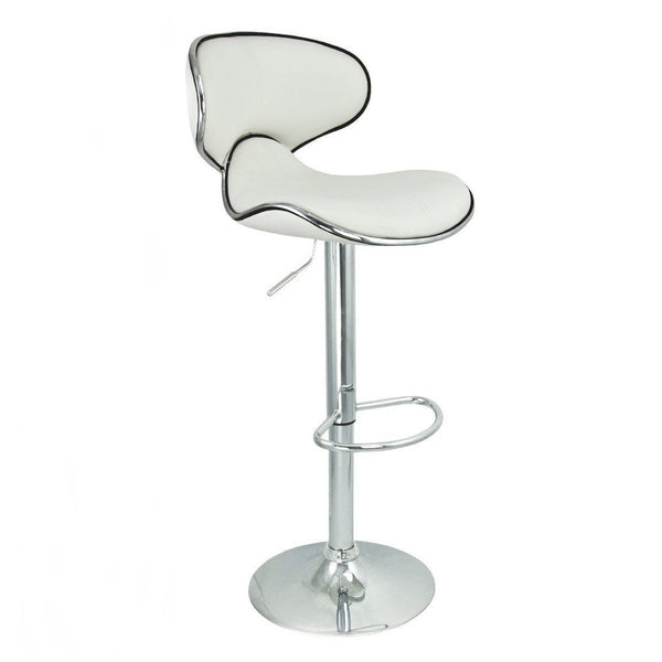 BS03 High Bar Stool (White)