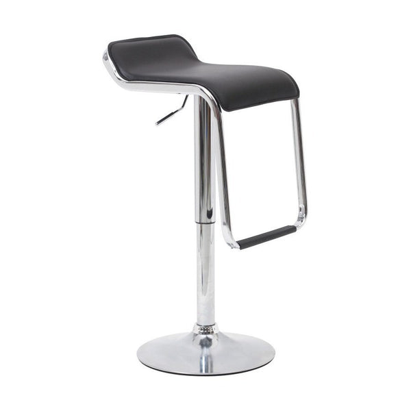 BS04 Low Bar Stool (Black)
