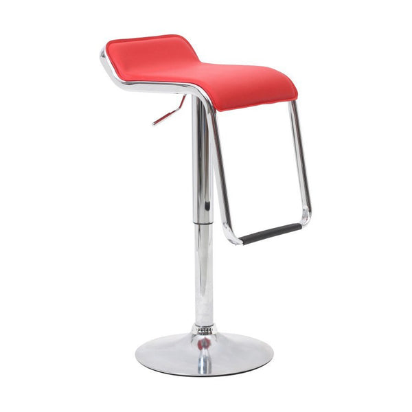 BS04 Low Bar Stool (Red)
