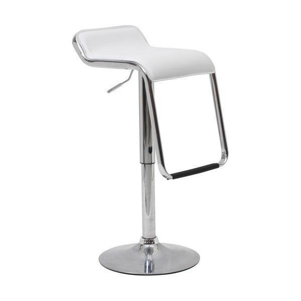 BS04 Low Bar Stool (White)
