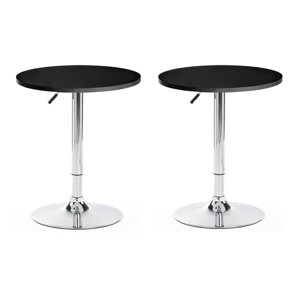 BT01 Bar Table Set of 2 (Black)