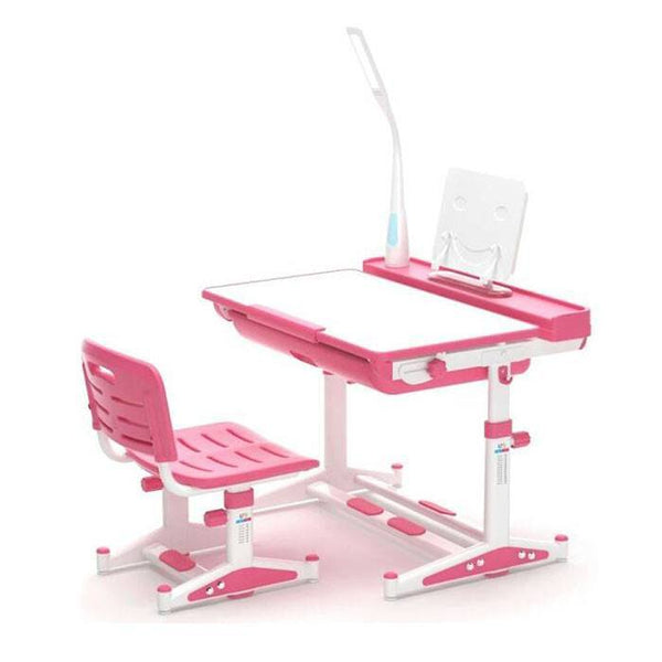 Ergonomic Table for Children (80cm x 60cm) - Pink