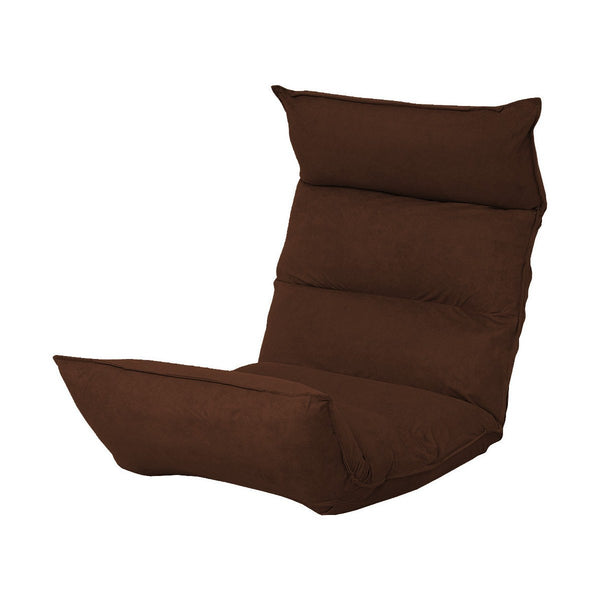 FS0207 Foldable Floor Chair (Brown)