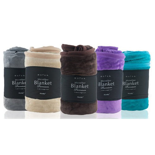 Japanese Niceday Microfibre Blanket (5 colors)