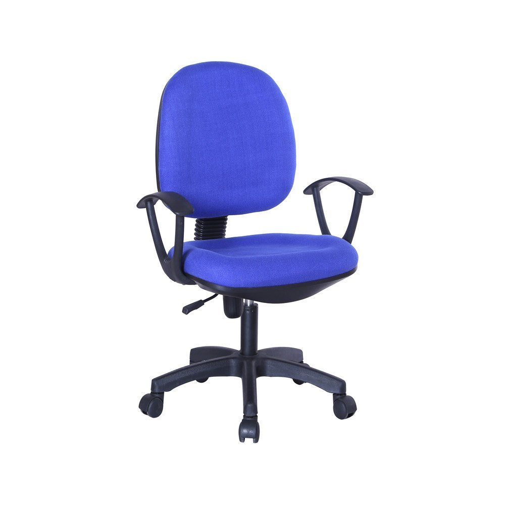 Bt09 office chair blue suchprice singapore for Blue office chair
