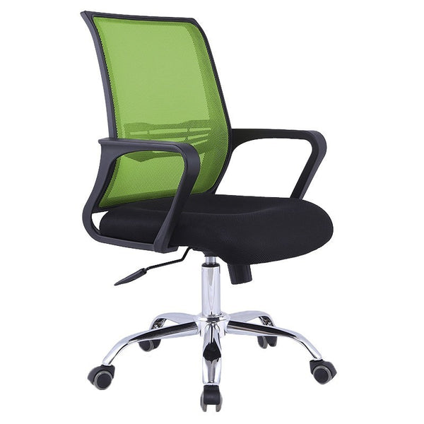 C30 Ergonomic Officer Chair with Metal Base (Green)