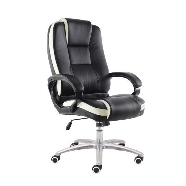 P02 Presidential Chair   Black