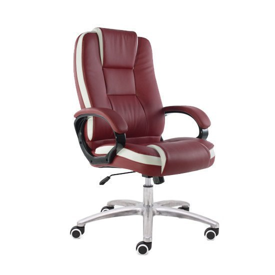 P02 Presidential Chair   Burgundy