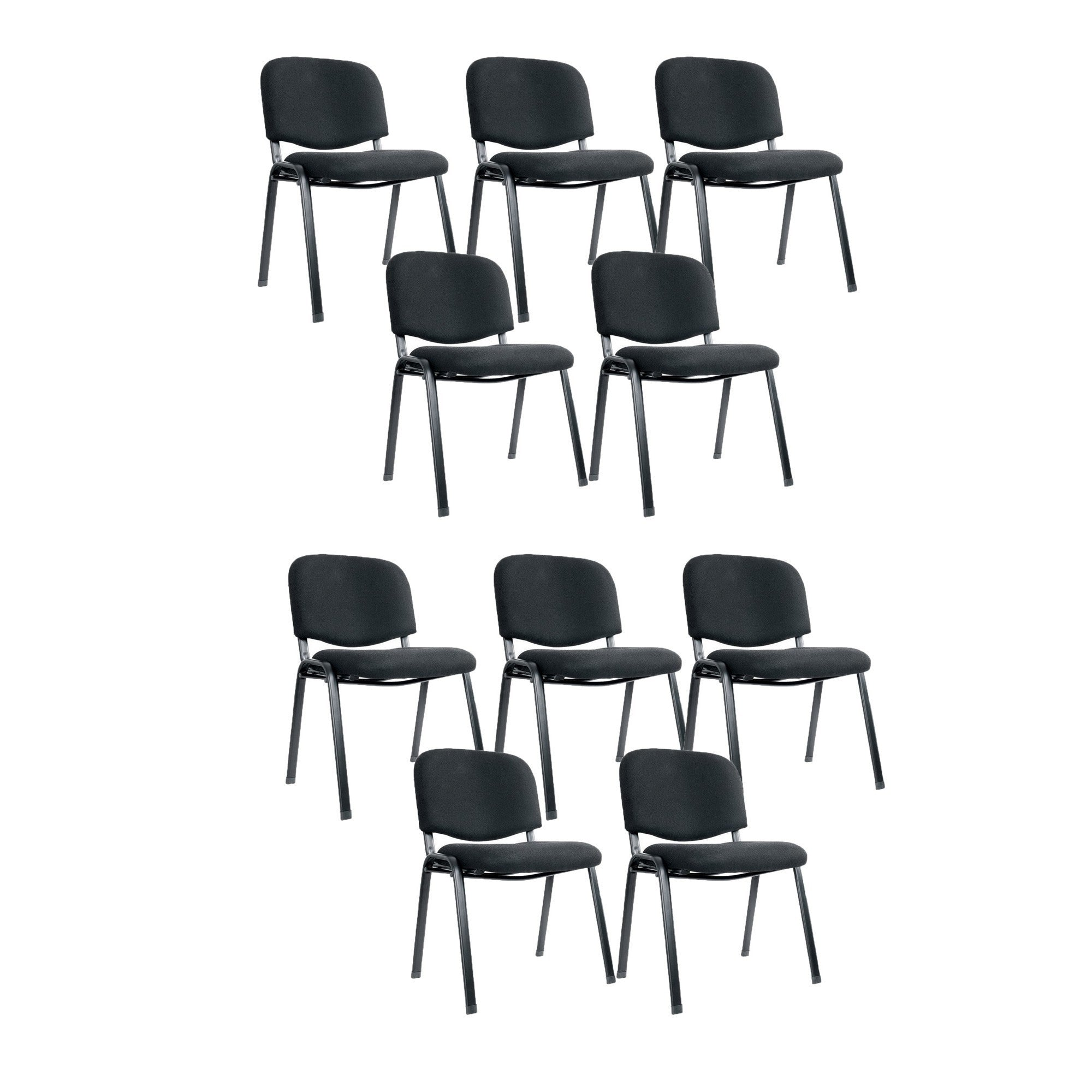 S14 Office Chair Set Of 10 Black Suchprice Singapore