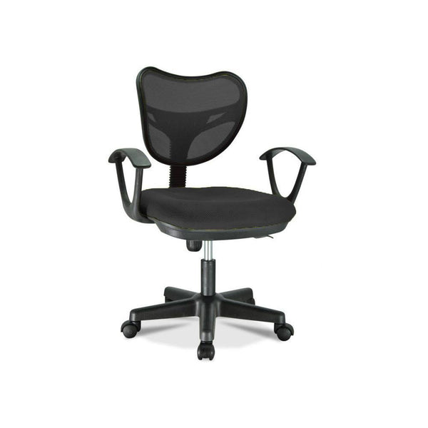 Standard Officer Chair With Mesh - Black S05