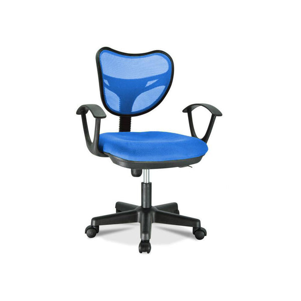 Standard Officer Chair With Mesh - Blue S05