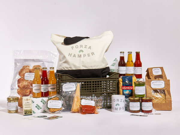 The BETTER VEGGIE Forza Christmas Hamper (food, merch & cocktails)