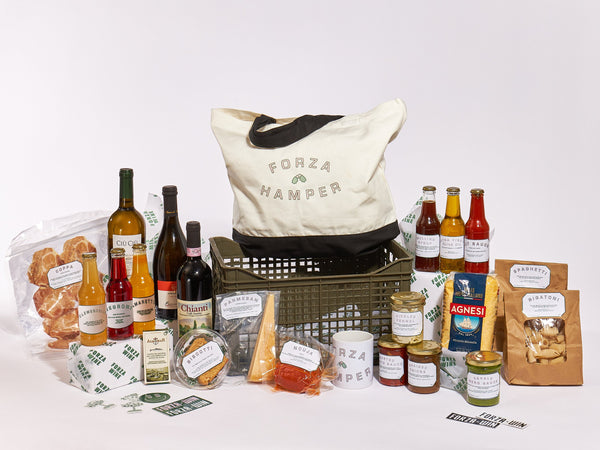 The BEST VEGGIE Forza Christmas hamper (food,merch, cocktails & wine)