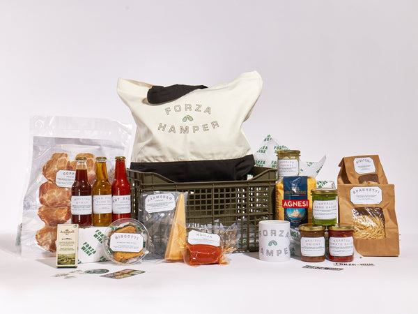 The GREAT VEGGIE Forza Christmas Hamper (food & merch)