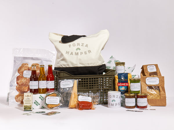 The GREAT Forza Christmas Hamper (food & merch)